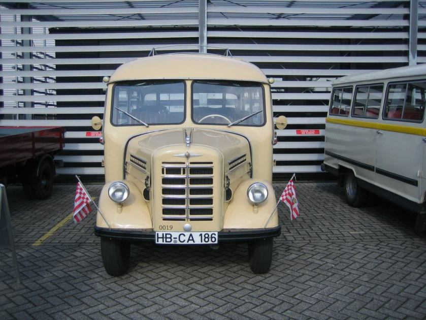 1953 Borgward b1500-busje