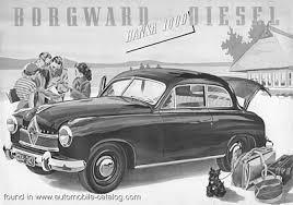 1953 Borgward Hansa 1800 Diesel