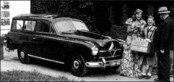 1953 Borgward Hansa 1800 kombi