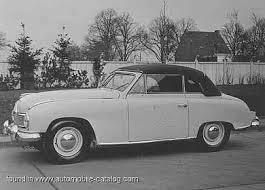 1953 Borgward Hansa 1800 Sport-Cabriolet