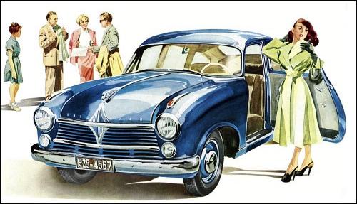 1953 Borgward Hansa 2400 Limousine ad