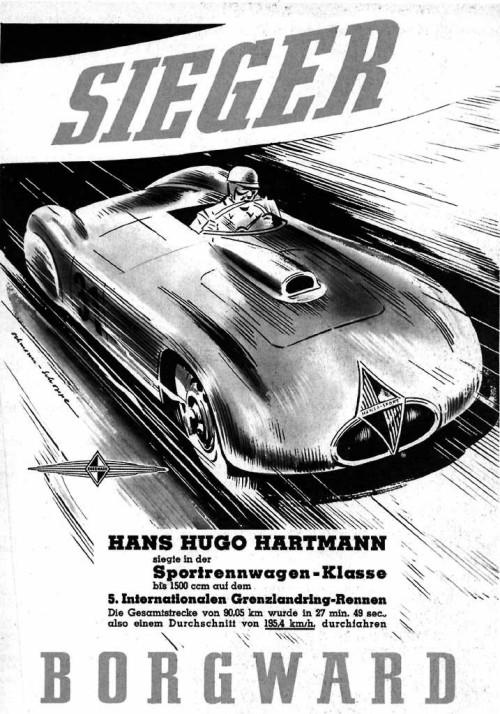 1953 Borgward Sieger 5 ad
