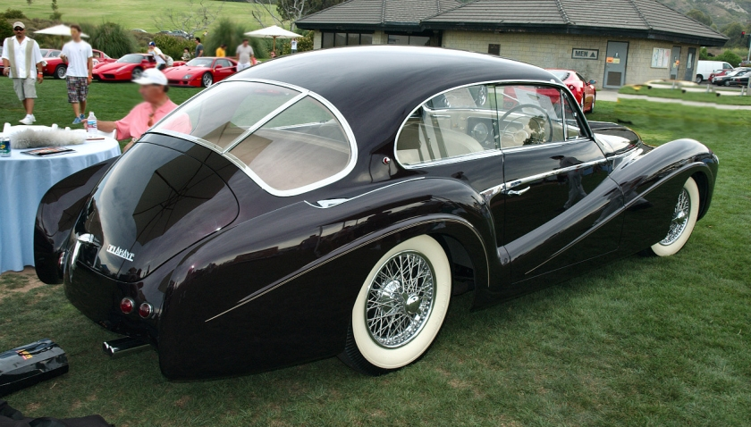 1953 Delahaye 235M Pillarless Coupe by Saoutchik