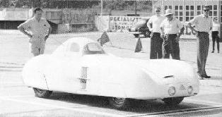 1953 Lloyd 350 cc renwagen