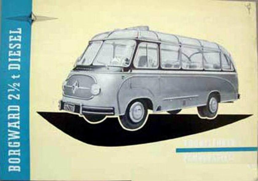1954 Borgward 2,5 Diesel Bus