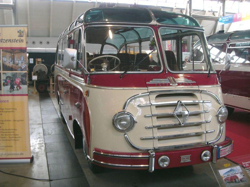 1954 Borgward B 2500 60ps vom Karosseriebauer Ottenbacher
