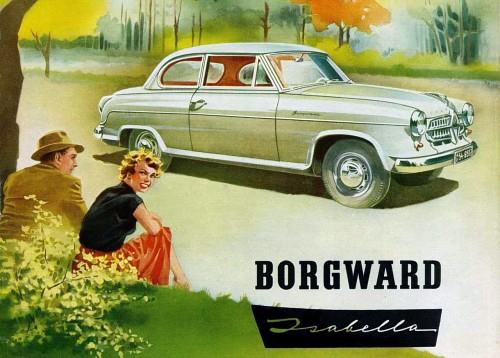 1954 Borgward Isabella ad