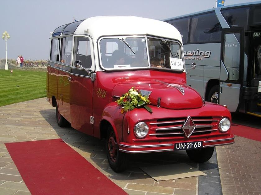1954 Borgward te Noordwijk 130506 Meering UN 21-60-rts