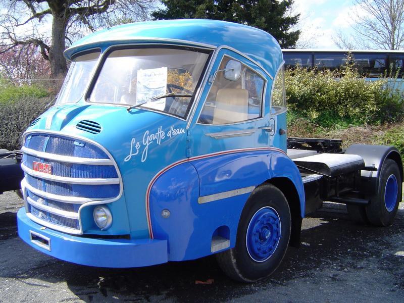 1954 Willeme LC610 cette cabine Doucet commençait