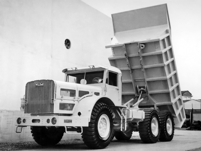 1954 Willeme W8 SA Tipper