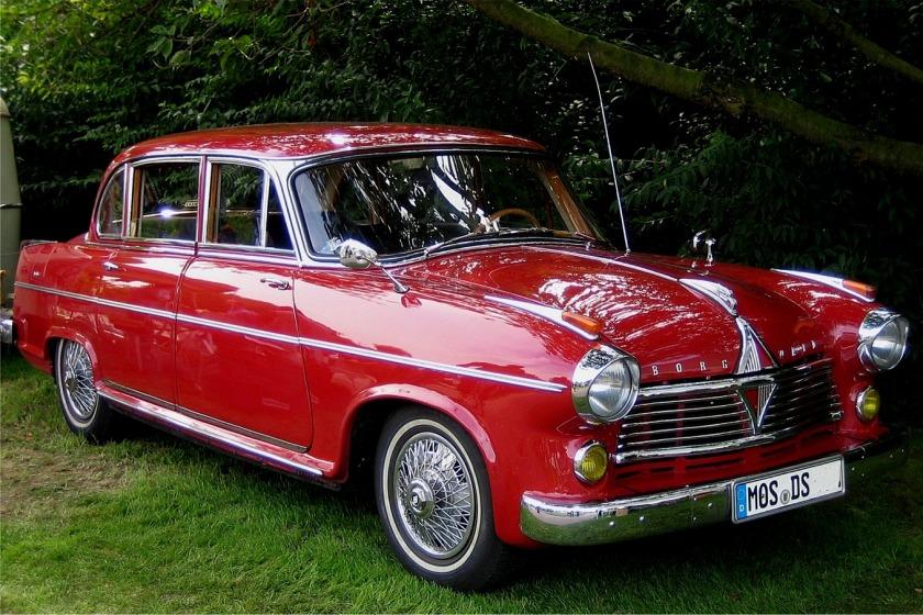 1955-58 Borgward Pullman-Limousine Hansa 2400