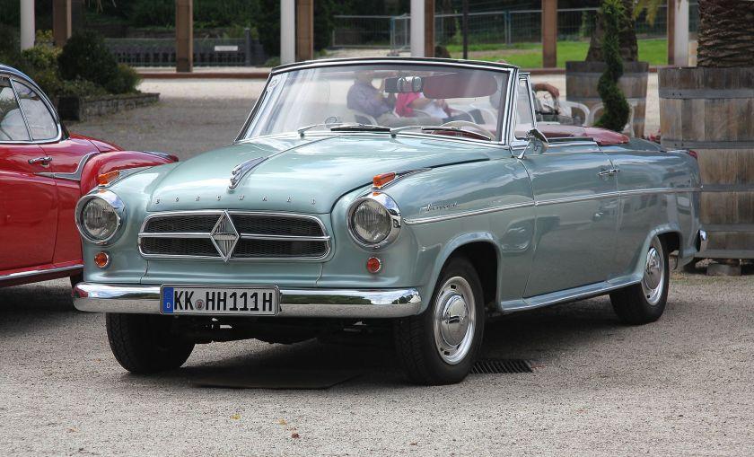 1955-61 Borgward Isabella Cabriolet von Deutsch