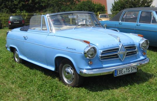 1955-61 Borgward Isabella Isabella Limousine