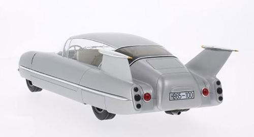 1955 Borgward 1500 Traumwagen, silver rear