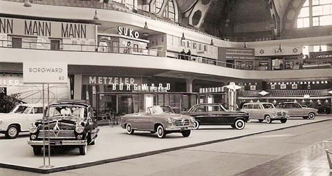 1955 Borgward auf der IAA