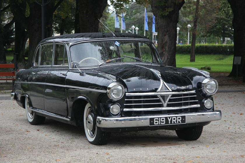1955 Borgward Hansa 2400 II, 345 Stück gebaut von 1955 bis 1958