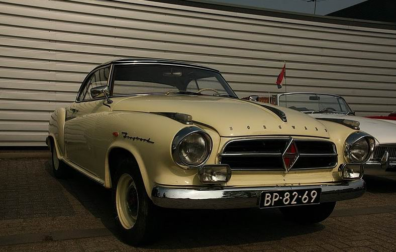 1955 Borgward Isabella coupe (2)