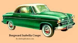 1955 Borgward Isabella Coupe ad