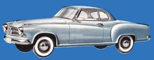 1955 Borgward Isabella Coupe