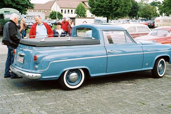 1955 borgward pickup - G