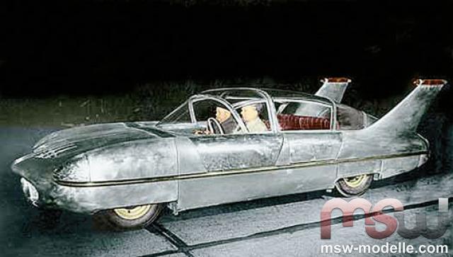 1955 Borgward Traumwagen in aluminium by Premium ClassiXXs