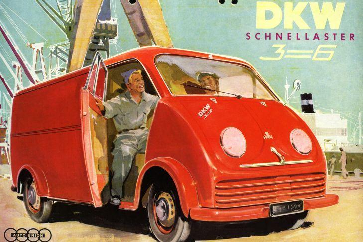 1955 DKW-Schnellaster-Weiss