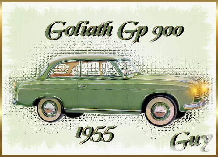 1955 Goliath 900