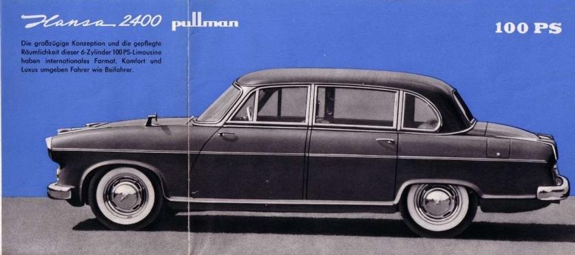 1955 hansa 2400