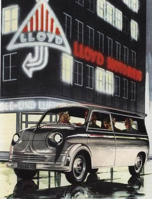 1956-61 Lloyd Bus-T2