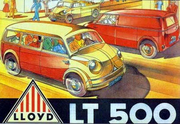 1956-61 Lloyd LP 300, 400, 600, Alexander