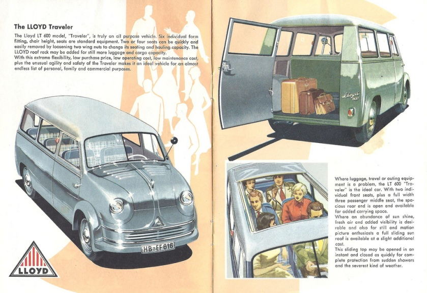 1956-61 Lloyd LT-600 Traveler