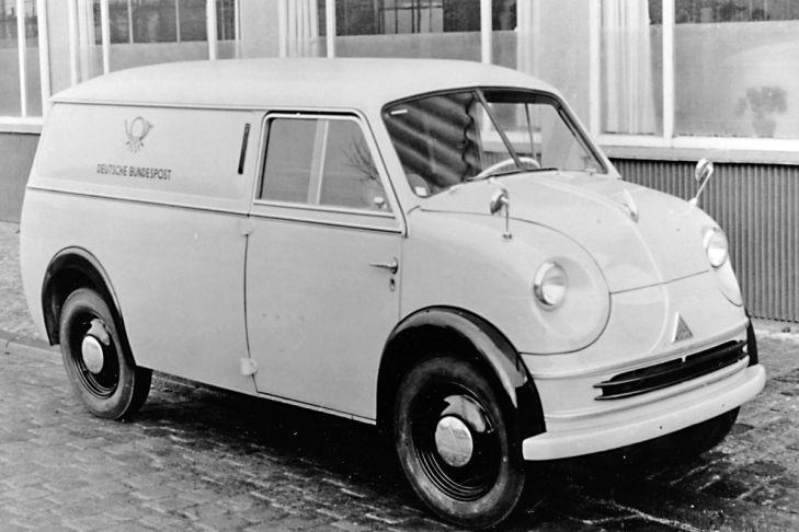 1956-61 Lloyd-LT LT 600 und sein Zweitakt-Vorfahr LT 500 den Spitznamen Theodor