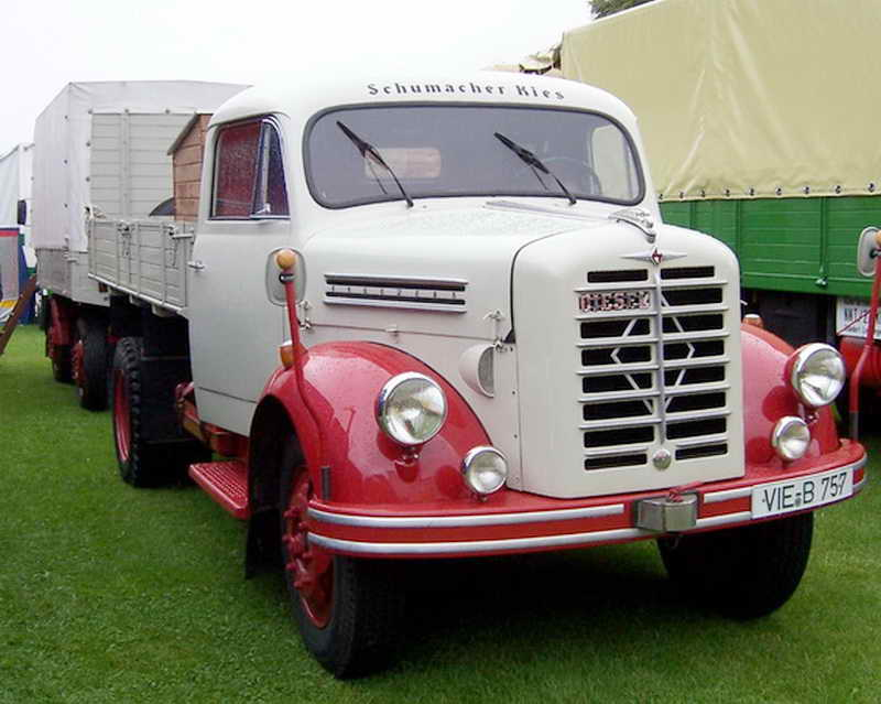 1956 Borgward B2500 Diesel