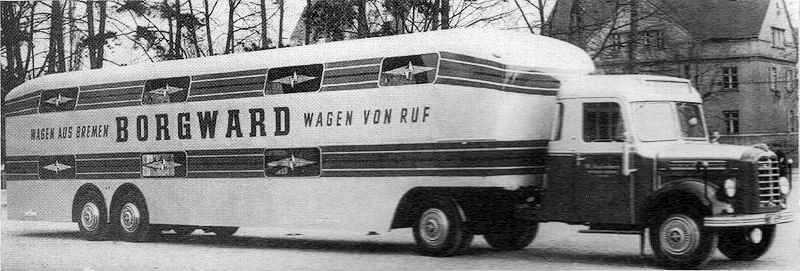 1956 Borgward b4000