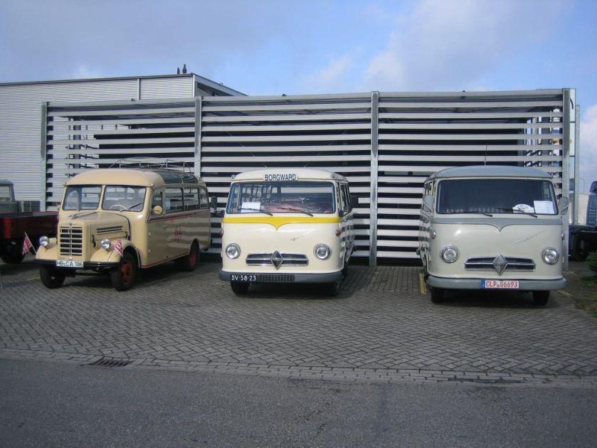 1956 Borgward busjes