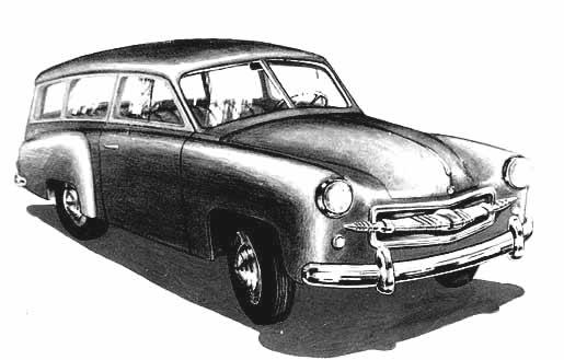 1956 Borgward Combi Argentinië ad