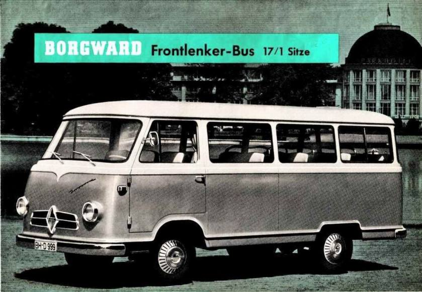 1956 Borgward folder-b611-bus-a