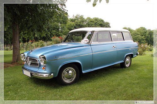 1956 Borgward Isabella Coupe a