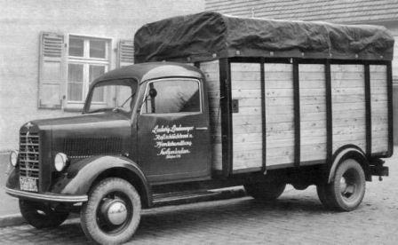1956 Borgward Veewagen