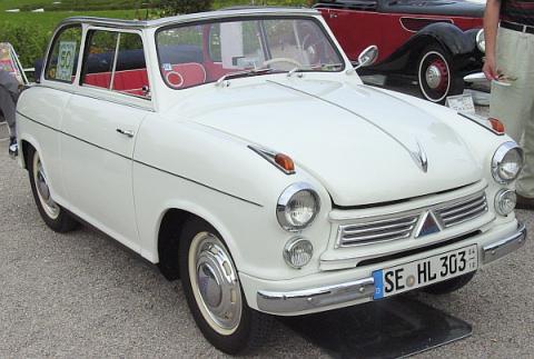 1956 Lloyd 600 Cabrio limousine