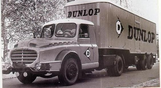 1956 Willeme 610 T.75 Dunlop