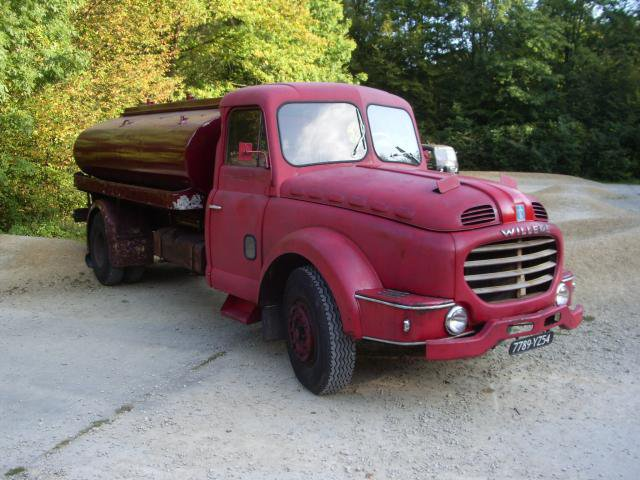 1956 WILLEME LD 610, pinardier 6 cyl, 195 cv