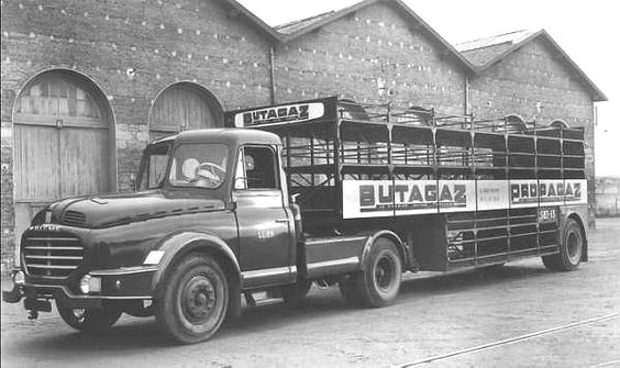 1956 WILLEME LD610 toujours de la maison BUTAGAZ et PROPAGAZ a