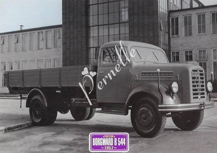 1957 Borgward b 544