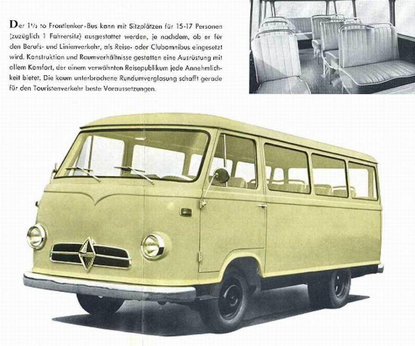 1957 Borgward b 611 05