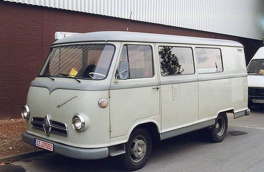 1957 Borgward B 611 Keinbus-Kombi