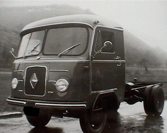 1957 Borgward B2500-frontstuur