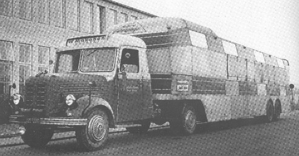 1957 Borgward B4000 Autotransporter