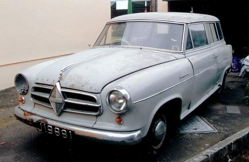 1957 Borgward Combi