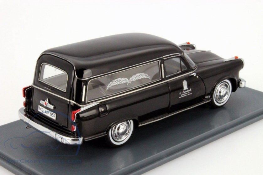 1957 Borgward Hansa 2400 Hearses black